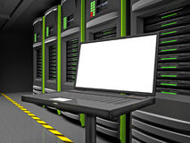 Laap And Servers Stock Photos