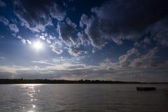 Laars in de rivier Royalty-vrije Stock Afbeeldingen