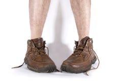 Laarzen en benen Royalty-vrije Stock Foto's