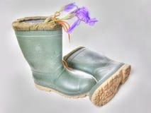Laarzen HDR Stock Foto