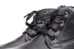 Laarzen op de witte achtergrond Royalty-vrije Stock Afbeeldingen
