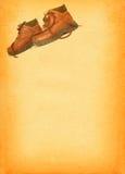 Laarzen op retro achtergrond #2 royalty-vrije illustratie