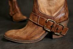 Laarzen van de cowboy Stock Foto