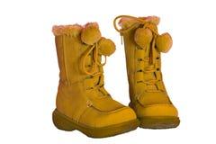 Laarzen voor jonge geitjes Royalty-vrije Stock Fotografie