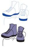 Laarzen voor sport Royalty-vrije Stock Afbeelding
