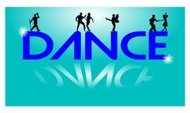 Laat dansconcept Stock Foto