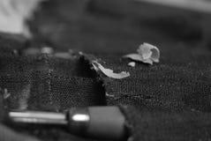 Laat de splinters vliegen Stock Fotografie