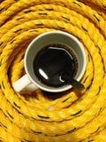 Laat een kop van koffie nemen royalty-vrije stock fotografie