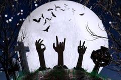 Laat ` Halloween! Royalty-vrije Stock Foto's