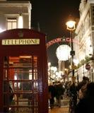 Laat - het nachtleven in Londen Stock Foto