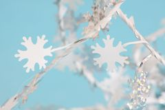 Laat het sneeuwen Royalty-vrije Stock Afbeelding