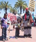 Laat Levend Gaza! Royalty-vrije Stock Afbeeldingen