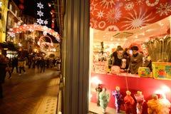 Laat - nacht het winkelen Royalty-vrije Stock Foto