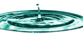 Laat vallen water Royalty-vrije Stock Foto