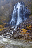 Laatefoss in Odda Stock Photography