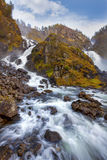 Laatefoss in Odda Royalty Free Stock Image