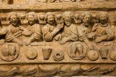 Laatste Avondmaal bari Apulia of Puglia Italië royalty-vrije stock fotografie