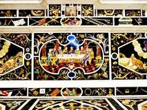 Laatste Avondmaal van Da Vinci stock illustratie