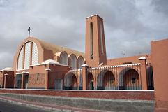 Laayoune Kathedrale Stockfotos