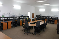 Lab. A empty testing laboratory,room royalty free stock photography