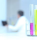 in the lab Stock Images