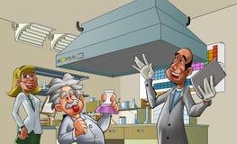lab royalty ilustracja