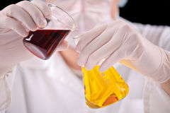 At the lab Stock Photos