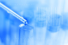 Lab abstract science background Stock Image