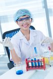 Lab analysis Stock Photos