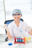 Lab analysis Royalty Free Stock Photos
