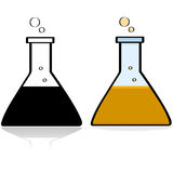 Lab beaker Royalty Free Stock Image