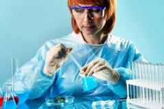 Lab biologia fotografia royalty free
