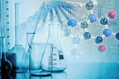 Lab. Chemistry test experiment white medical stock photos