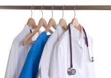 Lab coats Royalty Free Stock Images