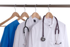Lab coats Stock Images