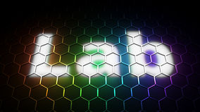 Lab - color space Royalty Free Stock Photo