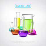 Lab Composition Royalty Free Stock Photos