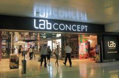 Lab Concept shopping mall Hong Kong. Lab Concept shopping mall in Hong Kong. Lab Concept is the contemporary retail management arm of Lane Crawford Joyce Group Stock Image