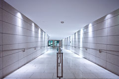 Lab Corridor Royalty Free Stock Photos