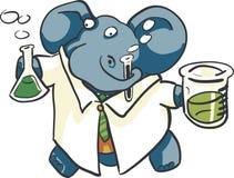 Lab Elephants Royalty Free Stock Photos
