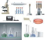 Lab Equipment Stock Photo
