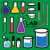 LAB EQUIPMENT Stock Image