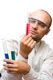 Lab experiment Stock Photography