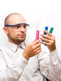 Lab Experiment Royalty Free Stock Image