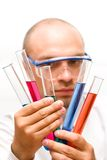 Lab Experiment Royalty Free Stock Photos