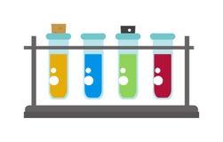 Lab flask vector illustration Royalty Free Stock Photo