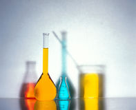 Lab Glassware Royalty Free Stock Photography