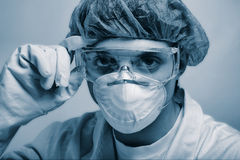 Lab man Royalty Free Stock Image