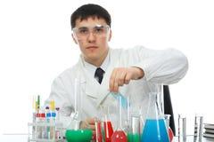 Lab man Stock Images