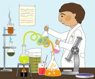 In the Lab Stock Photography